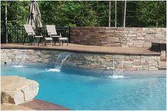 Swimming Pool Liner Border