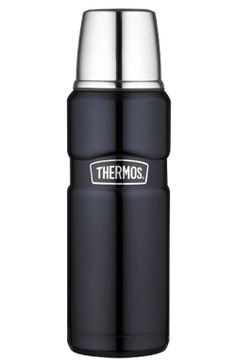 KING 1,2 L Blue Thermos - DECO Salon. Extremely functional, durable and elegant thermos made ​​in the new, highly efficient technology ® Thermax.