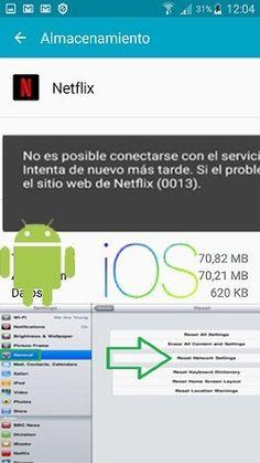 Solución Error Netflix 30103 0013 Netflix Sistema Android Apple Tv
