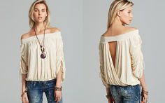 Free People Top - Belair Embroidered