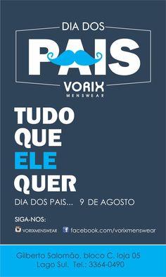 Karina Gonsalves on Behance Campanha Dia dos Pais.  Father's day campain