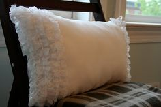MYO Ruffle Pillow (The Cheater's Version)