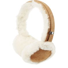 UGG Australia Classic Wired Shearling Earmuff Headphones (595 HRK) ❤ liked on Polyvore featuring accessories, tech accessories, multicolor, shearling earmuffs, ugg, earmuff headphones, colorful headphones and ugg earmuffs