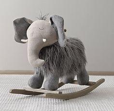 Wooly Plush Rocking Animal - RH baby