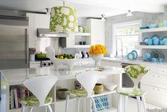 color ideas for kitchens | 10 Fresh Kitchen Color Ideas for Spring | Photo Gallery - Yahoo! Shine
