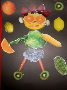 Fruit and veggie people: nutrition