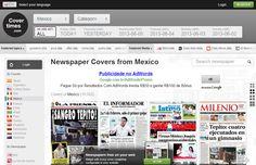 ONE: CoverTimes, el proyecto que presenta las portadas de los periódicos de todo el mundo renueva su sitio