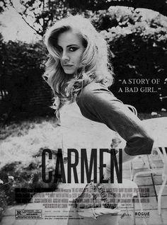 Lana Del Rey - Carmen (poster)