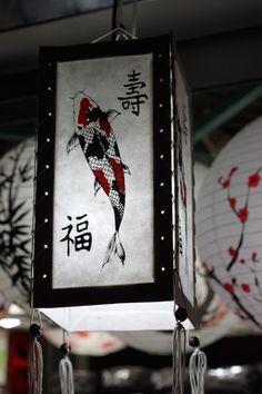 Japanese Koi Paper Lantern More