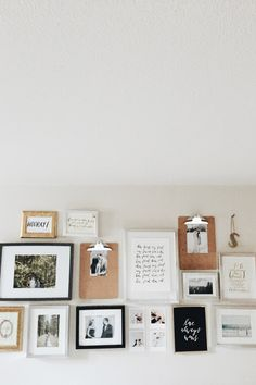 GALLERY WALL REMIXED — Allie Seidel Where The Heart Is, Home Living Room, Gallery Wall, Frame, Blog, Inspiration, Decoration, House, Home Decor