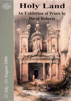 Exhibition Poster: David Roberts' Holy Land – Sotherans