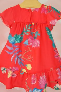 Baby Dress Design, Baby Girl Dress Patterns, Sewing Patterns Girls, Frock Design, Baby Frocks Designs, Kids Frocks Design, Stylish Dresses For Girls, Girls Dresses, Folk Fashion