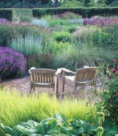 The Walled Garden at Scampston.  Heaven. Garden design by Piet Oudolf.
