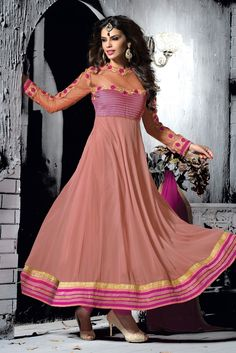 New #Anarkali #Frocks Designs For Wedding Party 2016