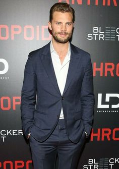 Jamie Dornan at the premiere of Anthropoid in New York (Aug 4/16)
