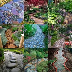 A Whole Bunch Of Beautiful & Enchanting Garden Paths - Style Estate -