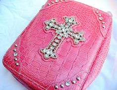 My new pink bible cover! Isn't it adorable! Emo Princess, Bad Girl Wallpaper, Early 2000s Fashion, Battle Jacket, Church Music, Bible Covers, Vacation Bible School, Mood, Wall Collage
