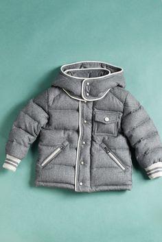 Children's Wear Trend: Kids' Stuff- Moncler for winter.