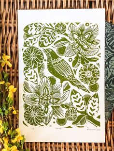 Mangle Prints Amanda Colville is a print maker and artist with a passion for all things print, pattern and colour. Using an old washing mangle as a printing press, she creates linocut prints and artwork from her home in Norfolk.