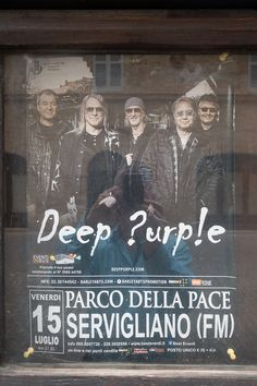 Expatriate and tourists can't believe it: Deep Purple live in a small town in Le Marche