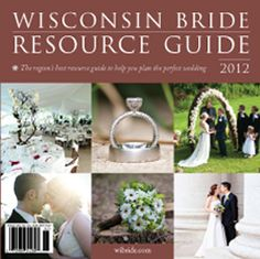 Wisconsin Bride Resource Guide @Brianne Gohlke this would be a good use for you