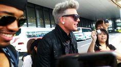Lilypop:P@----: Platinum Adam Lambert Arrives in Tokyo!