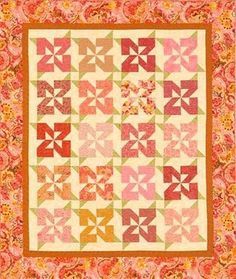 I just bought the makings at JoAnn. Quilt is called Nana Girl, which is my nickname for my monkey. Her B-Day present.