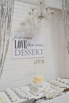 sign love - Silver Wedding Anniversary Ideas captured by Scarlet O'Neill - via ruffled