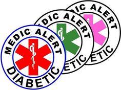 10 Pack  1.5 Circle Medic Alert ID Temporary Tattoo by TempAlertID, $4.00