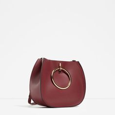 Image 2 of TOTE WITH METALLIC STRAPS from Zara