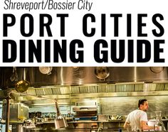 Logo and app image for Port Cities Dining Guide.