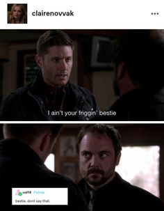 Hotel Trivago, Supernatural Funny, Character Development, Crowley, Destiel, Superwholock, Cas, Movies And Tv Shows, Movie Tv