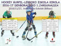 Horarios Primera jornada escolar de hockey línea 2016-2017 | Eskola Kirola Hockey Gurpil-Lerroko 1. jardunaldiaren ordutegiak