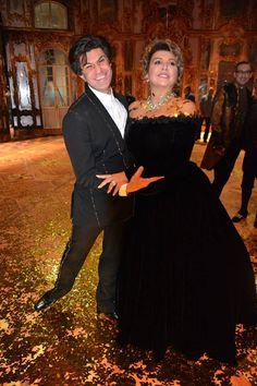 Мария Гулегина и Николай Цискаридзе.
