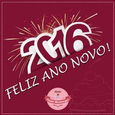 Que 2016 seja um ano de muita sáude, paz e festividades para todos. Feliz Ano Novo! #atelierpaulamontenegro #cakedesigner #bolo #festas