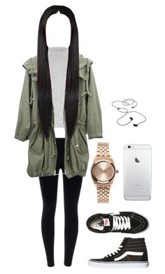 """""""school fit on a wednesday"""" by ajamarks64 ❤ liked on Polyvore featuring River Island, Vans, Nixon and AIAIAI"""