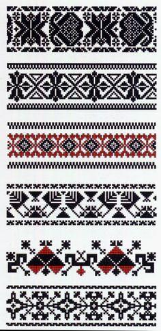 Costume and embroidery of Lithuania Minor, Mažoji Lietuva, or Klaipeda region, Lithuania - chemise embroidery