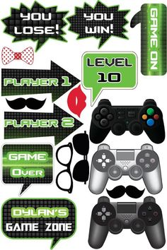 New fortnite birthday games ideas Ideas Birthday Party Games, 10th Birthday, Game Themes, Party Themes, Xbox Party, Video Game Party, Video Games, Video Game Cakes, Game Props