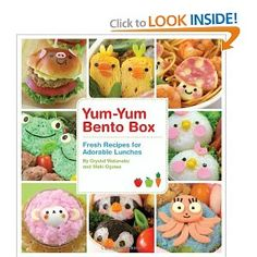 Bento Box Book for School Lunch Ideas
