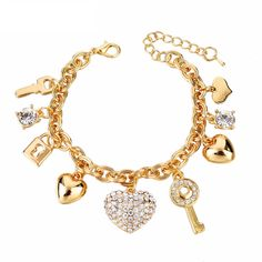 Chain Charm Bracelet