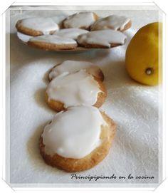 Galletas de limón glaseadas