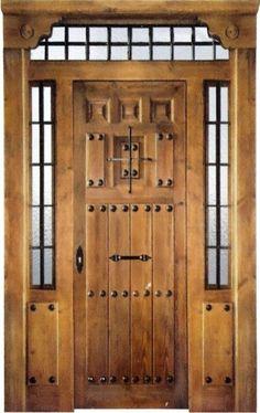 Puertas de madera rusticas buscar con google un arte for Puertas rusticas de madera