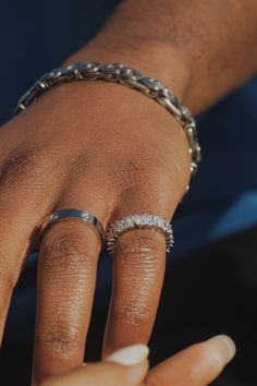 Couples gift inspo. Jewellery your partner will love. Couple Rings, Bangles, Bracelets, Jewelry Stores, Jewels, Jewellery, Unisex, Couples, Gifts