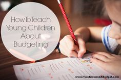 Learn how to teach young children about budgeting and give them a firm financial foundation that will last a life time. It's easier than you may think.