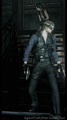Resident Evil Anime, Leon S Kennedy, Saga, Queen Love, Strong Character, Video Game Characters, Horror Movies, Video Games, Bambi