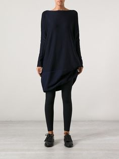 DANIELA GREGIS - asymmetrical reversible dress 7