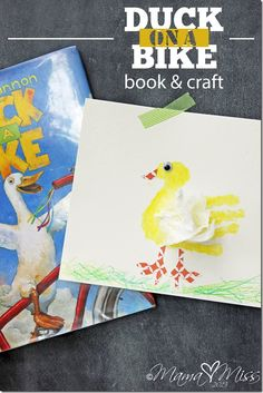 BOOK & CRAFT!  Feath