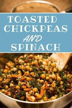 Budget-Friendly Toasted Chickpea Dinner – My Fresh Organic Life