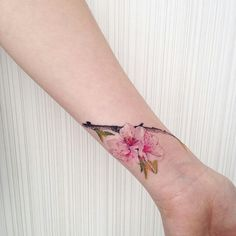19 Ideas Tattoo Ideas Female Beautiful Tatoo For 2019 Mini Tattoos, Flower Tattoos, Body Art Tattoos, New Tattoos, Small Tattoos, Tatoos, Cherry Tattoos, Pretty Tattoos, Unique Tattoos