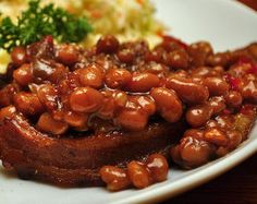 Delicious baked beans & other yummy BBQ side dishes you can make in your crock pot.